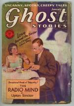 Ghost Stories Jan 1930 Upton Sinclair Cover Story