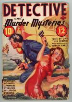 Detective and Murder Mysteries Mar 1939 FIRST issue 2nd series