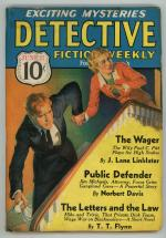 Detective Fiction Weekly Jun 27 1936 Fred MacIsaac