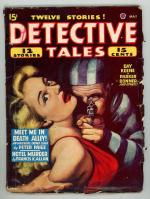 Detective Tales May 1947 Blonde GG Cover Art; DL Champion
