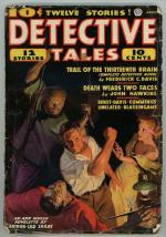 Detective Tales Apr 1937 Oriental Menace Cvr Art; Cummings; Ernst; FC Davis
