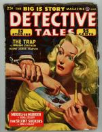 Detective Tales Mar 1948 Blonde GG Cleavage Cover Art