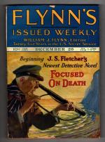 Flynn's Dec 26 1925 J.S. Fletcher Cover Story