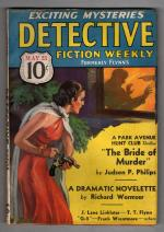 Detective Fiction Weekly May 23 1936 Judson P. Phillips Cvr - Park Ave Hunt Club