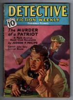 Detective Fiction Weekly May 8 1937 VE Pyles Cvr; Carroll John Daly; JP. Philips