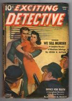 Exciting Detective 1941 Summer Hugh B. Cave,