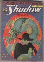The Shadow Oct 1 1932 Green Eyes by Maxwell Grant