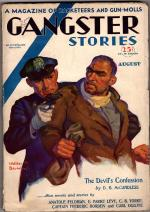 Gangster Stories Aug 1930 Baumhofer Cover