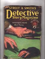 Detective Story May 9 1931, Edgar Wallace, Johnston McCulley,