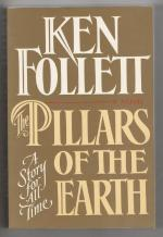 The Pillars of the Earth by Ken Follett  (1st Edition) Advance Copy Unbound Galley
