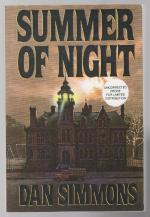 Summer of Night by Dan Simmons (First printing) Proof Signed