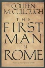 The First Man in Rome by Colleen McCullough (First Edition)