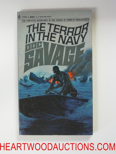 Doc Savage 33 The Terror in the Navy