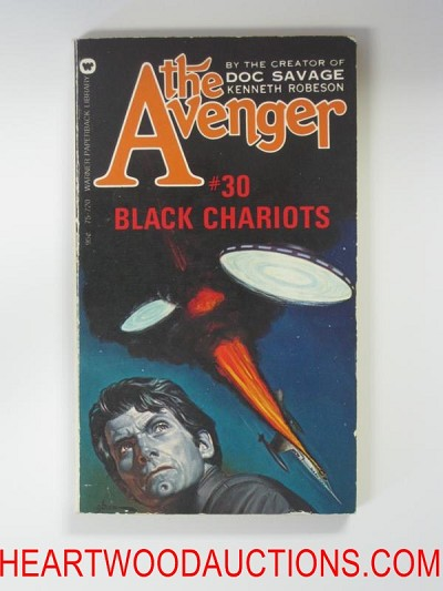 The Avenger 30 George Gross Cvr Black Chariots
