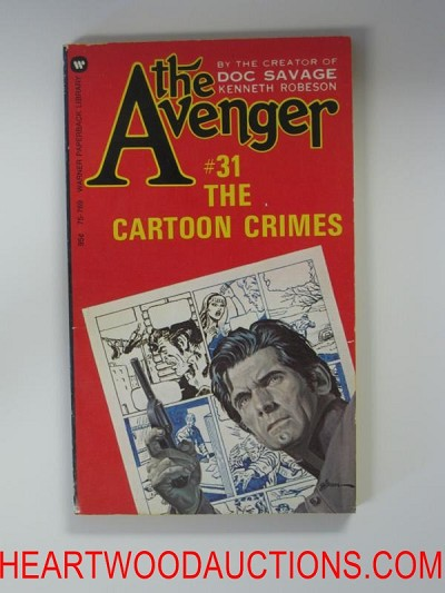 The Avenger 31 George Gross Cvr The Cartoon Crimes