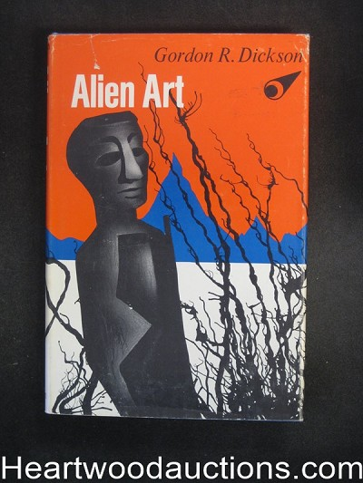 Alien Art by Gordon R. Dickson signed and inscribed- High Grade
