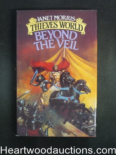 Thieves World Beyond The Veil by Janet Morris Signed