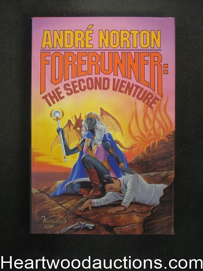 Forerunner: The Second Venture by Andre Norton- High Grade