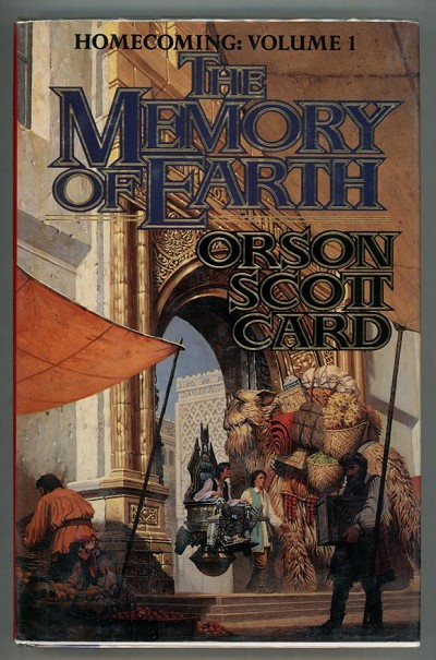 The Memory of Earth by Orson Scott Card (First edition)- High Grade