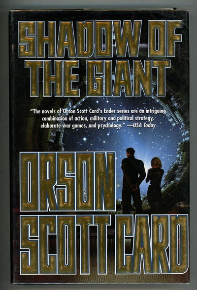Shadow of the Giant by Orson Scott Card (Signed, First edition)- High Grade