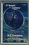 A Usual Lunacy by D.G. Compton (Signed, Limited)- High Grade