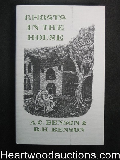 Ghosts In The House by A.C. Benson Unread Copy (Limited Edition)