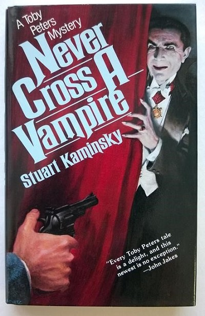 Never Cross a Vampire by Stuart Kaminsky- High Grade