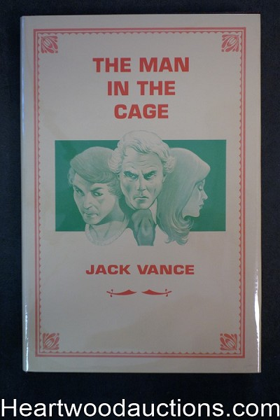 The Man in the Cage by Jack Vance (Signed)(Limited)- High Grade
