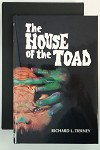 The House of the Toad by Richard L. Tierney Signed, Limited - High Grade