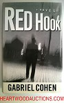 RED HOOK by Gabriel Cohen SIGNED FIRST