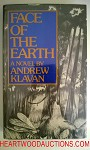 Face of the Earth by Andrew Klavan FIRST- High Grade