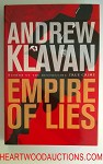 EMPIRE OF LIES by Andrew Klavan FIRST- High Grade