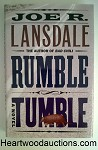 RUMBLE TUMBLE by Joe R. Lansdale FIRST- High Grade