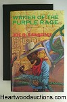 WRITER OF THE PURPLE RAGE by Joe R. Lansdale SIGNED LTD ED