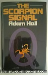 The SCORPION SIGNAL by Adam Hall FIRST- High Grade