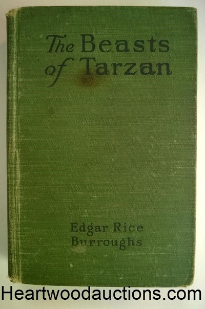 The BEASTS of TARZAN by Edgar Rice Burroughs (ca 1916)