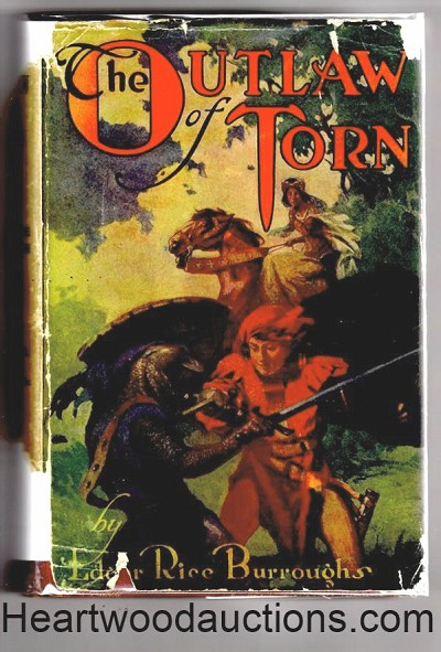 The OUTLAW of TORN by Edgar Rice Burroughs FIRST