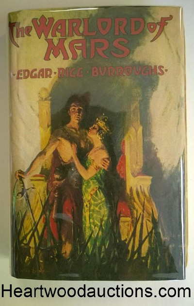 The WARLORD of MARS by Edgar Rice Burroughs FIRST