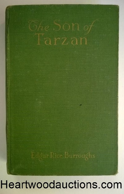 The SON of TARZAN by Edgar Rice Burroughs FIRST