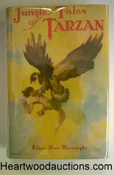 JUNGLE TALES of TARZAN by Edgar Rice Burroughs FIRST