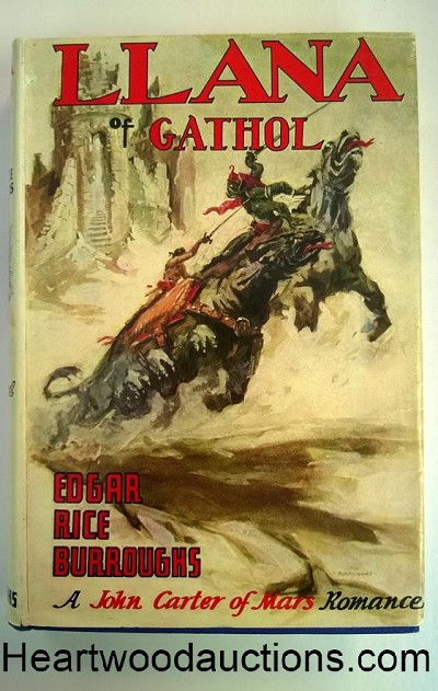 LLANA of GATHOL by Edgar Rice Burroughs FIRST- High Grade