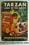 TARZAN LORD of the JUNGLE by Edgar Rice Burroughs FIRST J. Allen St. John Cover Art