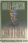 CHAIN OF EVIDENCE by Ridley Pearson FIRST