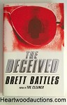The DECEIVED by Brett Battles SIGNED FIRST