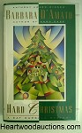 HARD CHRISTMAS by Barbara D'Amato SIGNED FIRST- High Grade