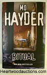 RITUAL by Mo Hayder SIGNED FIRST- High Grade
