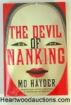 The DEVIL of NANKING by Mo Hayder FIRST- High Grade