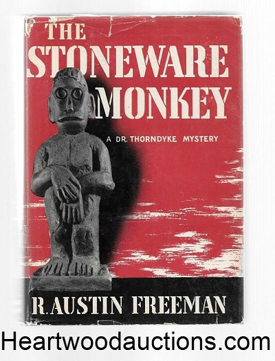 The Stoneware Monkey by R. Austen Freeman 1st US ed