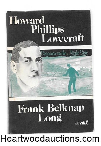 Howard Phillips Lovecraft by Frank Belknap Long Near Fine