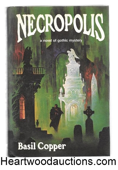 Necropolis by Basil Copper Signed by Artist